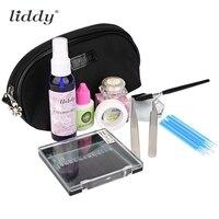 Professional Portable Fake Eyelashes Extension Kit Glue Remover Makeup Tools