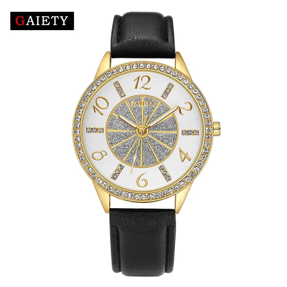 423ea6d8cfb GAIETY Brand Casual Women Luxury Gold Jewelry Bracelet Watch Fashion Analog  Quartz Watch For Women Ladies