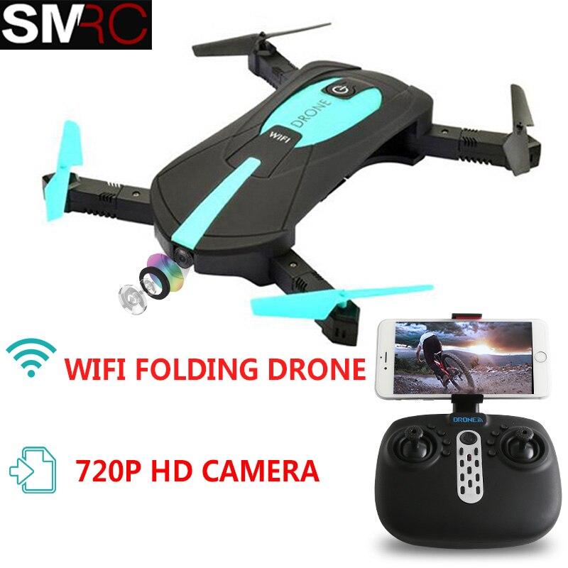 SMRC JY018 poche drone avec caméra HD RC Quadcopter WiFi FPV Sans Tête Mode Pliable vol Aérien télécommande quadcopter