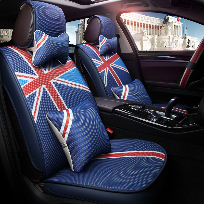 New Sport Customization Car Seat Cover General Cushion Car pad Car Styling For BMW Audi Honda CRV Ford Nissan All cars