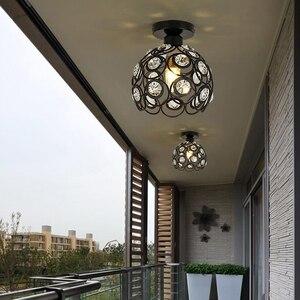 Image 4 - גביש מנורת מסעדת תליון אורות creative אישיות מודרני פשטות בר אוכל חדר יסעד תאורת אהיל (Dia: 20 cm)