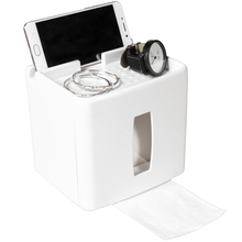 BF040 Multi-function Toilet paper holder, waterproof towel box in toilet, free punching tissue 17*13cm