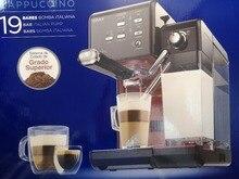 19bar кофеварка для эспрессо, приготовление кофе, кофемашина для приготовления латте, коммерческая и бытовая