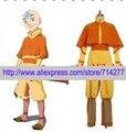Envío libre Por Encargo Barato Aang Cosplay de Avatar la leyenda de Aang