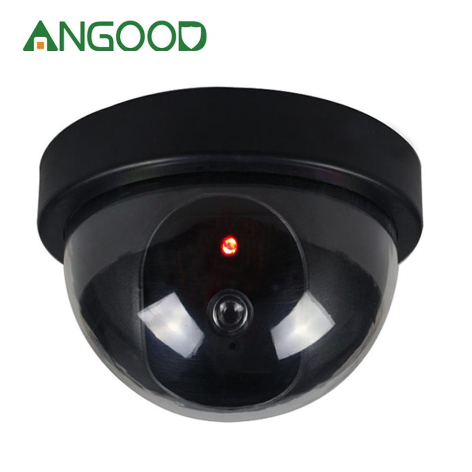 1 Pcs Fake Dummy Camera Surveillance Simulated Camera Dome CCTV IP Camera  with Flashing Led Light for Indoor Outdoor Security1 Pcs Fake Dummy Camera Surveillance Simulated Camera Dome CCTV IP Camera  with Flashing Led Light for Indoor Outdoor Security