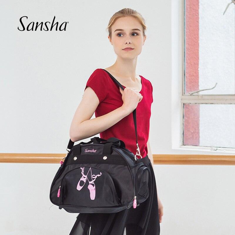 Sansha High Quality 15L Ballet Dance Bag With Adjustable Shoulder Strap Gym Sports Bag For Women Girls  KBAG31