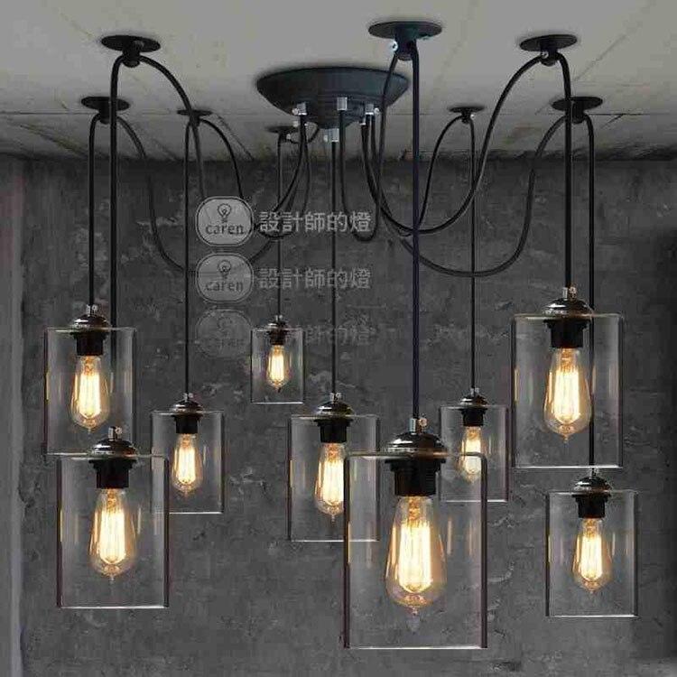 Aliexpress Com Buy Dining Room Retro Pendant Lamps: Aliexpress.com : Buy Retro Vintage Industry American