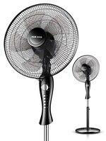Electric fan Landing Household dorm room Vertical fan mechanical Mute Shaking his head industry Electric fan timing