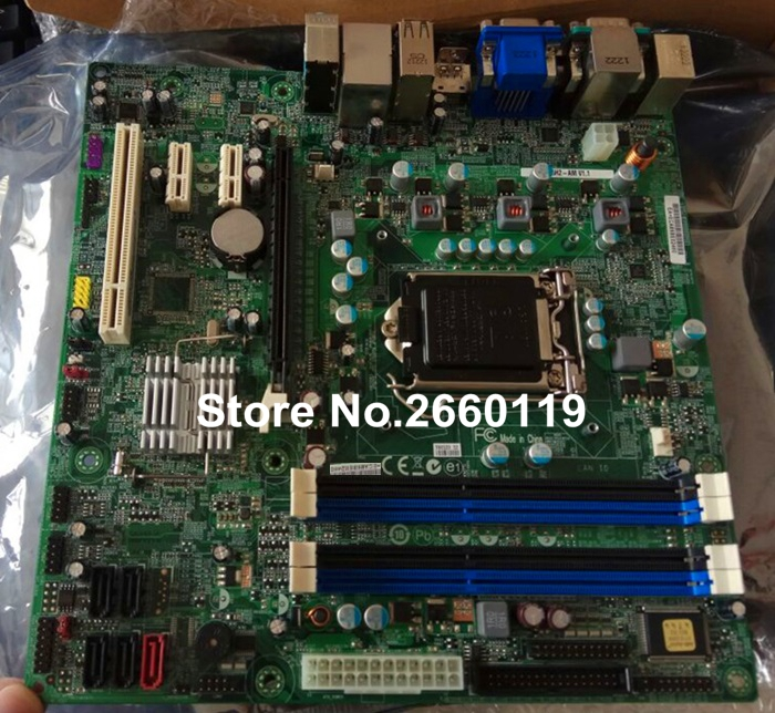 For Q65H2-AM LGA1155 system motherboard, fully tested desktop motherboard for cn 0j32fg j32fg 0j32fg 9010 7010 q77 lga1155 system board fully tested