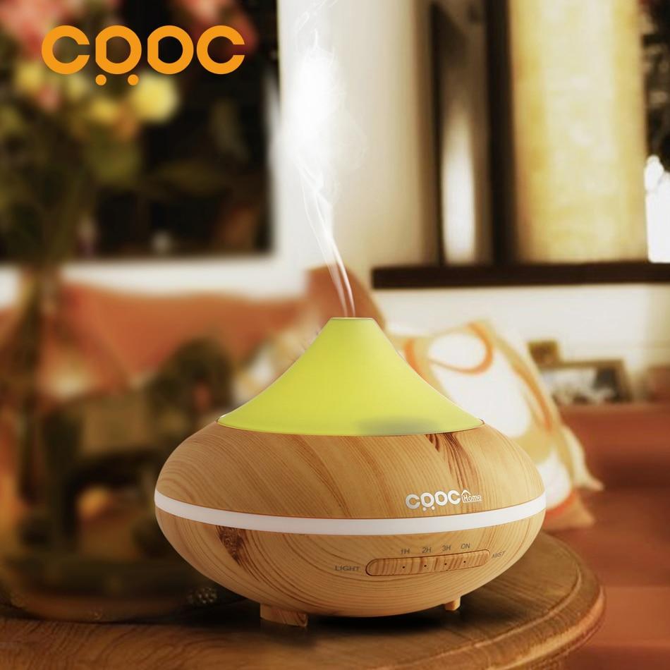 CRDC SıCAK Değişen Renk Ultrasonik Nemlendirici Esansiyel Yağı Difüzör Aroma Lambası Aromaterapi Elektrik Aroma Difüzör Mist Maker
