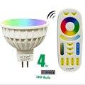 Milight Pode Ser Escurecido Lâmpada Led MR16 RGB DC12V 2.4G Sem Fio + CCT Levou Holofotes Led Inteligente Lâmpada LED + Controle Remoto