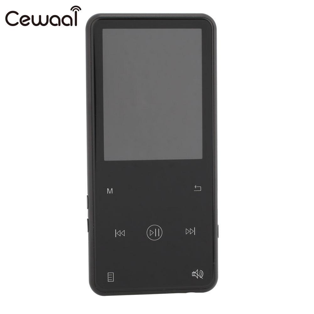 Lecteur Bluetooth BT4.1 Portable Dictaphone enregistreur vocal stylo MP3 MP4 FM Radio Mini 8G 16G