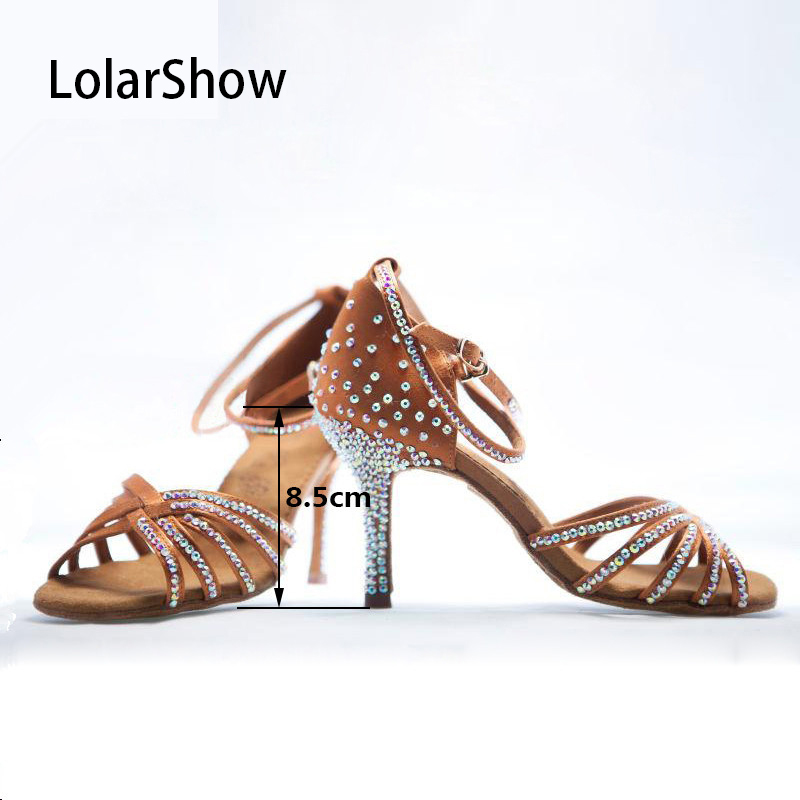Chaussures de danse pour femmes chaussures de bal Salsa chaussures de danse latine pour femmes
