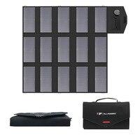 На открытом воздухе Солнечная Панель зарядное устройство 100 Вт Солнечная зарядка для iPhone iPad Macbook samsung Sony LG Acer HP ASUS Dell автомобильный аккумулят