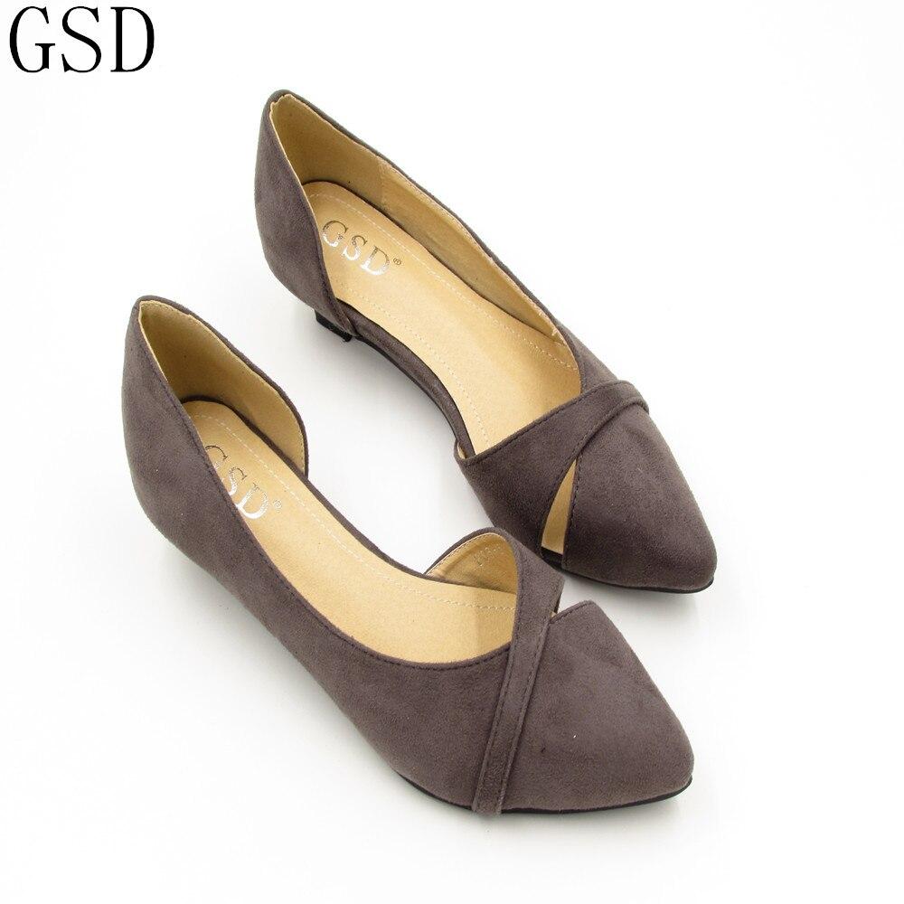 7b1db89a Moda damska buty wygodne płaskie buty-GS806-6 New arrival Mieszkania buty  duże buty rozmiar Kobiety mieszkania