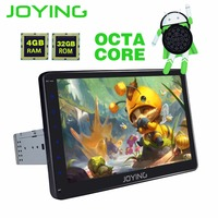 JOYING 10 INCH IPS HD 1 DIN 2GB/4GB RAM Octa core Android 8 car autoradio stereo GPS navigation radio head unit support carplay