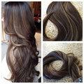 Hot Rainha 40 pc/100g Brasileiro Remy Tape in Human Hair Extensions Ombre Balayage Multi-cor da Fita em Extensões Do Cabelo Humano BY117