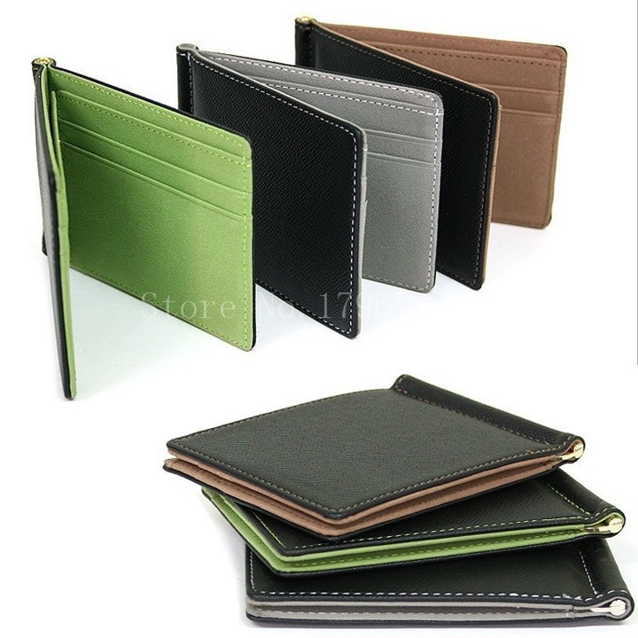 HTB1ZprzPXXXXXc4XXXXq6xXFXXXk - BLEVOLO Brand Men Wallet Short Skin Wallets Purses PU Leather Money Clips Sollid Thin Wallet For Men Purses 4 Colors