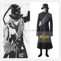 Negro Mayordomo Kuroshitsuji Undertaker Cosplay Fiesta de Halloween Trajes de Disfraces Hombres Negro Por Encargo