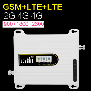 Image 3 - Европа GSM + 4G + 4G трехполосный мобильный телефон сигнальный повторитель GSM 4 аппарат не привязан к оператору сотовой связи 900 1800 2600 мобильный телефон Сотовая связь усилитель сигнала 70dB