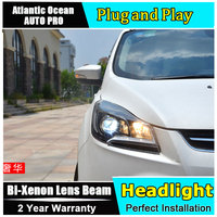 AUTO PRO Car Styling For Ford Kuga Escape Xenon Headlights 2013 2015 For Kuga Led Drl