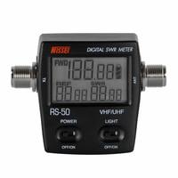 Digital Backlight SWR Standing Wave Ratio electricity power meter single phase 120W UHF/VHF for Walkie Talkie Digital SWR Meter