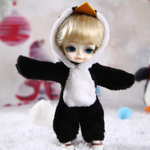 Image 4 - Free Shipping Withdoll Pooky Penguin BJD SD Dolls Yosd 1/8 Body Model Baby For Gift including clothes for fullset  OUENEIFS