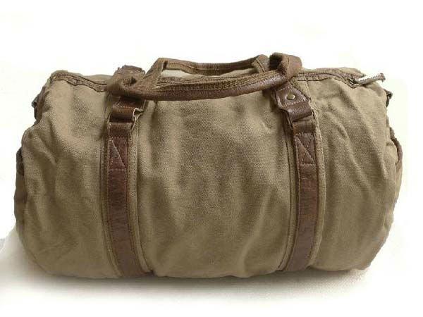Free Shipping High Quality Washed Canvas Genuine Leather Handbag Sling Bag Men S Messenger Shoulder Leisure