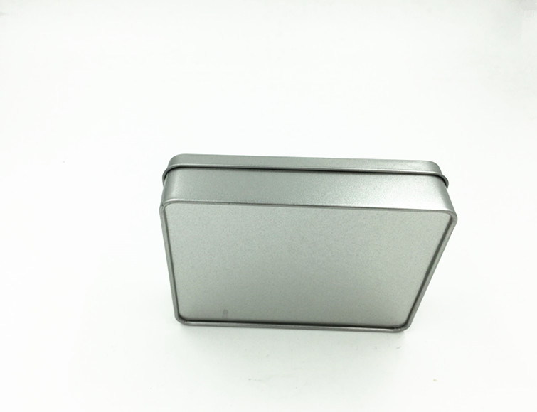 Size 125x95x30mm gift metal box tin case gift card tin box jewel case casket box in Storage Boxes Bins from Home Garden