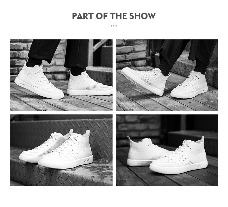 Onemix δερμάτινα ανδρικά αθλητικά παπούτσια για περπάτημα και τρέξιμο. Μεγέθη 39-45. Msow