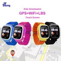 GPS/GSM Tracker שעונים לילדים ילדים G72 עבור אנדרואיד IOS SOS שנת מעקב Tracker פדומטר כושר Push Touch-כפתור b5