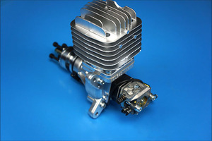 Image 4 - DLE Original New DLE55 55cc DLE Single Cylinder 2 Strokes Gasoline / Petrol Engine for RC Airplane
