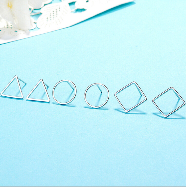Korea simple design geometric shape jewellery for ladies party chic jewellery accessories free shipping