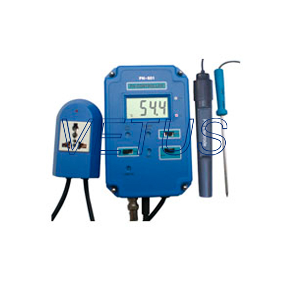 PH-601 Digital Controller PH meter with temperature probe