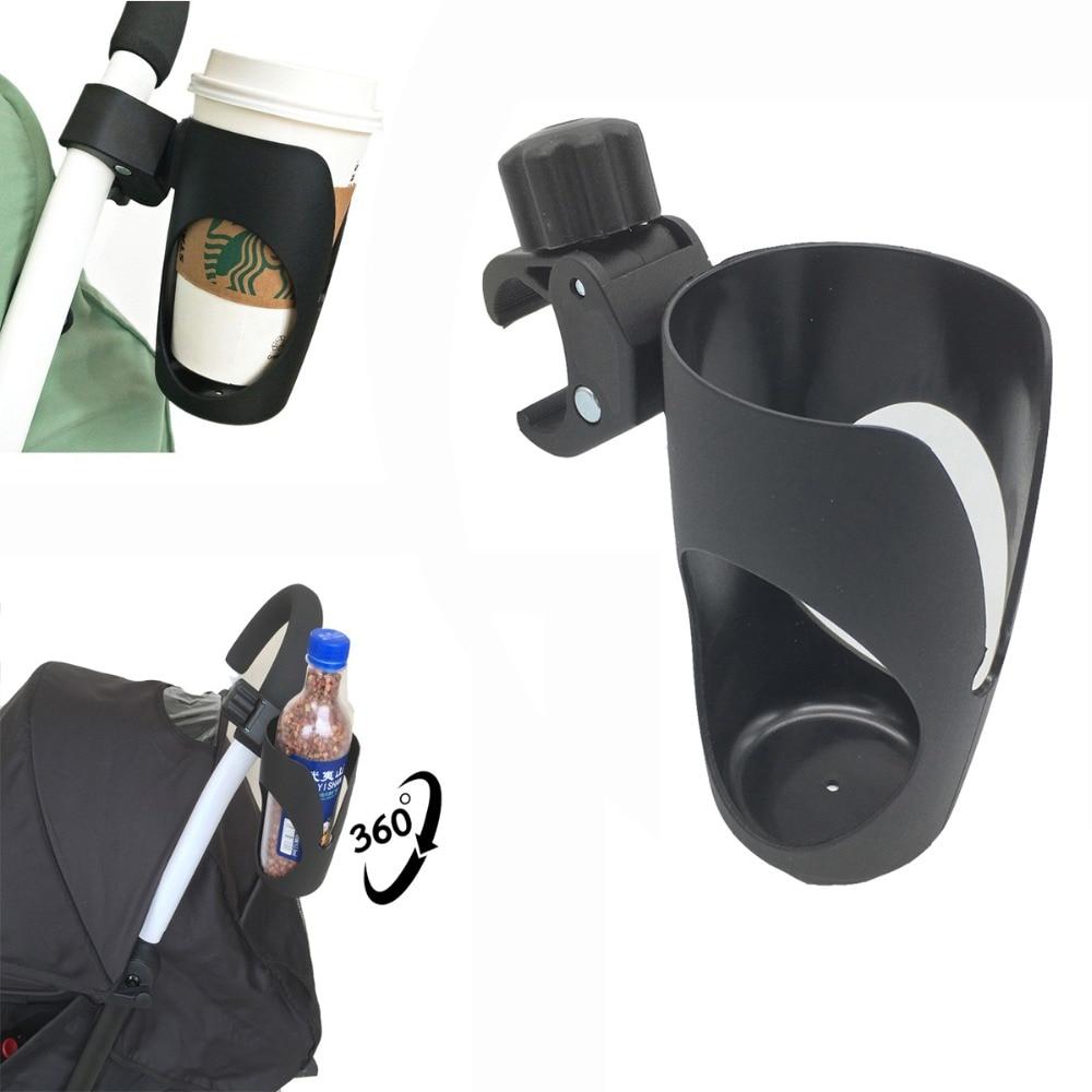 Universal 360° Rotating Stroller Drink Bottle Cup Holder Pram Pushchair New