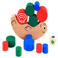 Montessori teaching aids Snail Balance Building Blocks Heap Kids Children Early Educational Toys