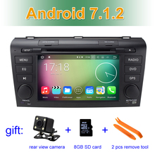 Android 7.1.2 Car DVD Player Multimedia For Mazda 3 with Bluetooth WIFI GPS Navigation Radio FM RAM 2G