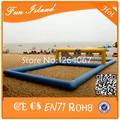 Бесплатная Доставка Надувные площадка для Пляжного Волейбола, надувные волейбол Для Аквапарка, Надувные Плавающей Волейбол
