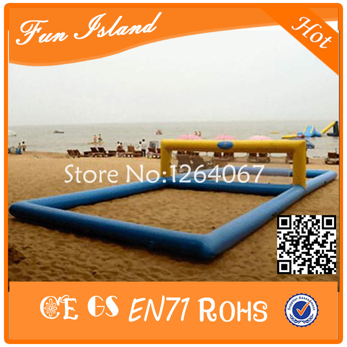 Free Shipping Inflatable Beach Volleyball Court, inflatable volleyball For Water Park,Inflatable Floating Volleyball 5m 4m 4m float unicorn water park inflatable water island inflatable iceberg for funny games inflatable ice tower