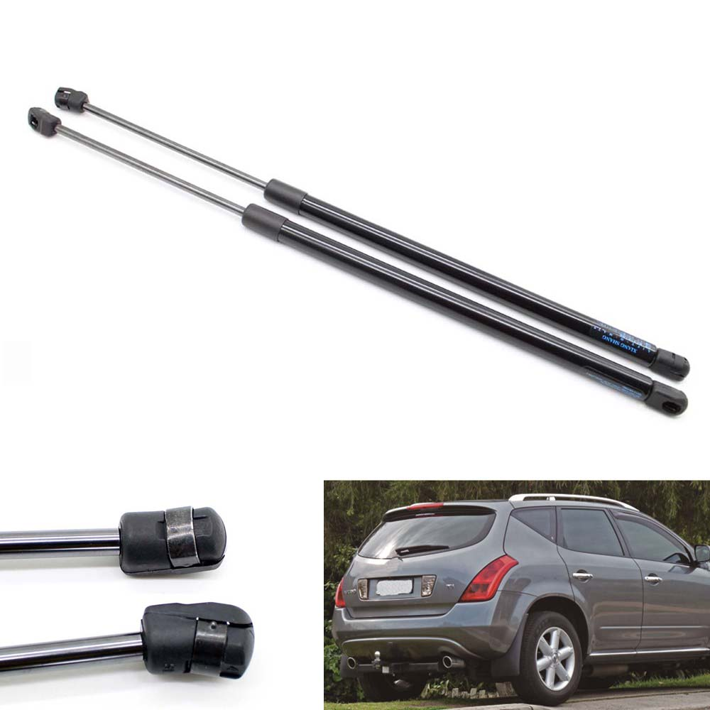 2pcs Auto Tailgate Boot Gas Struts Shock Struts Damper Lift Supports for Nissan Murano Z50 2003-2007 526 MM qty 2 stabius sg425027 фронта капот газ лифт поддерживает struts потрясений спрингс