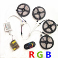 5m 10m 15m 20m smd RGB LEDs Strip light 5050 waterproof led light 30Leds/M led tape diode set RF Controller 12V power supply