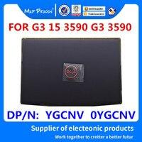 ÇıLGıN EJDERHA Marka Laptop YENI LCD arka kapak Arka Kapak Üst Kılıf siyah Bir kabuk kırmızı LOGO Dell G3 15 3590 G3 3590 YGCNV 0 YGCNV