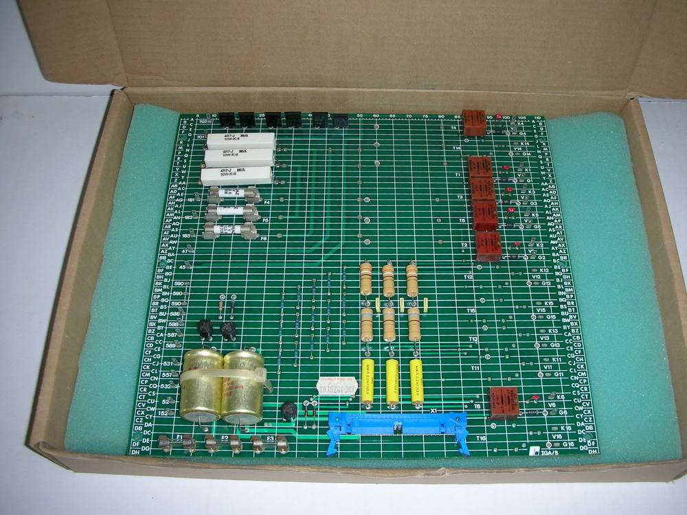 1PC USED RELIANCE 803.62.00 CARD BOARD1PC USED RELIANCE 803.62.00 CARD BOARD