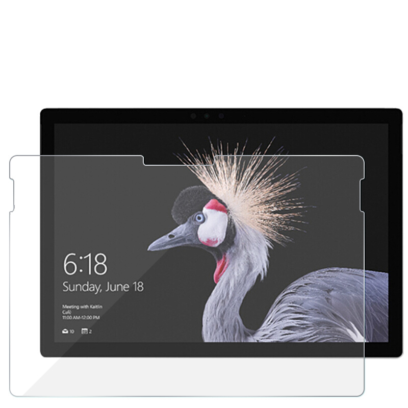 2.5D Tempered Glass For Microsoft Surface Pro 6 Pro 5 Pro 4  Pro 3 2 Pro6 12.3 Tablet Screen Protector For Microsoft Surface 3 2