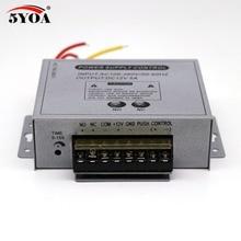 Alimentazione di Controllo di accesso 12 v 5A di Fascia Alta Porta di Impronte Digitali RFID Adapter Fornitore Macchina di Sistema di Covertor DC AC 100 ~ 260 v
