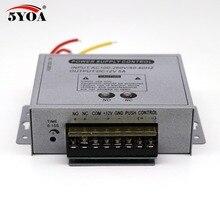 Kiểm Soát truy cập Cung Cấp Điện 12 v 5A Cao Cấp Cửa RFID Vân Tay Nhà Cung Cấp Adapter Covertor Hệ Thống Máy DC AC 100 ~ 260 v
