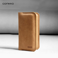 Universal Leather Phone Wallet Case Luxury Genuine Leather Flip Case For Apple Iphone 6 6s 7