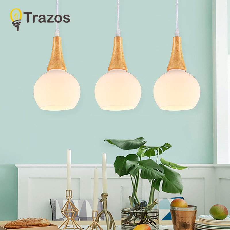 TRAZOS Modern Wood Pendant Lights Lamparas Grass white lamp shade Luminaire Dining Room Lights Pendant Lamp For Home Lighting modern guard dining room pendant lights white black golden silver lamp