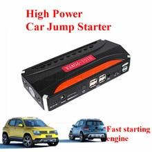 Nuevo Aumentado 68800 mAh Multi-Función de 12 V Coche Salto de Arranque Banco de Potencia Pico 600A 4USB Cargador de Batería de Coche para Auto De Gasolina y Diesel