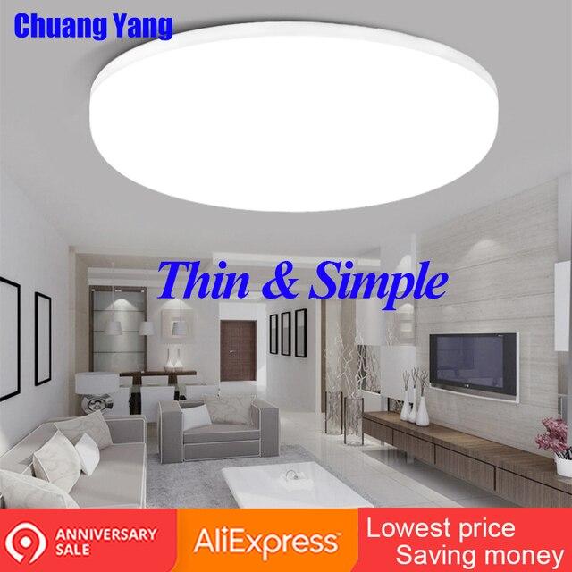 Surface Mounted LED Ceiling Lamps 15/20/30/50W Modern Led Ceiling Lights for Living Room PIR Motion Sensor Ceiling Lighting